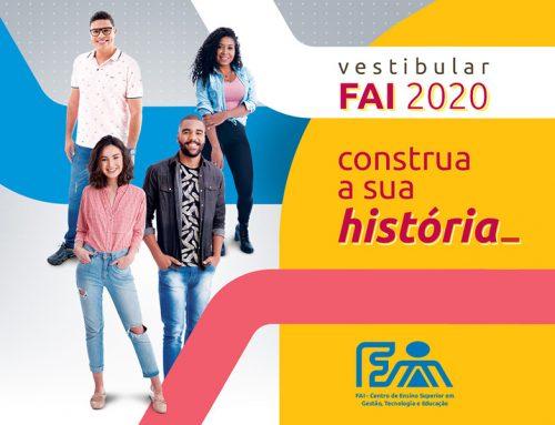 Dicas para os candidatos do Vestibular da FAI 2020